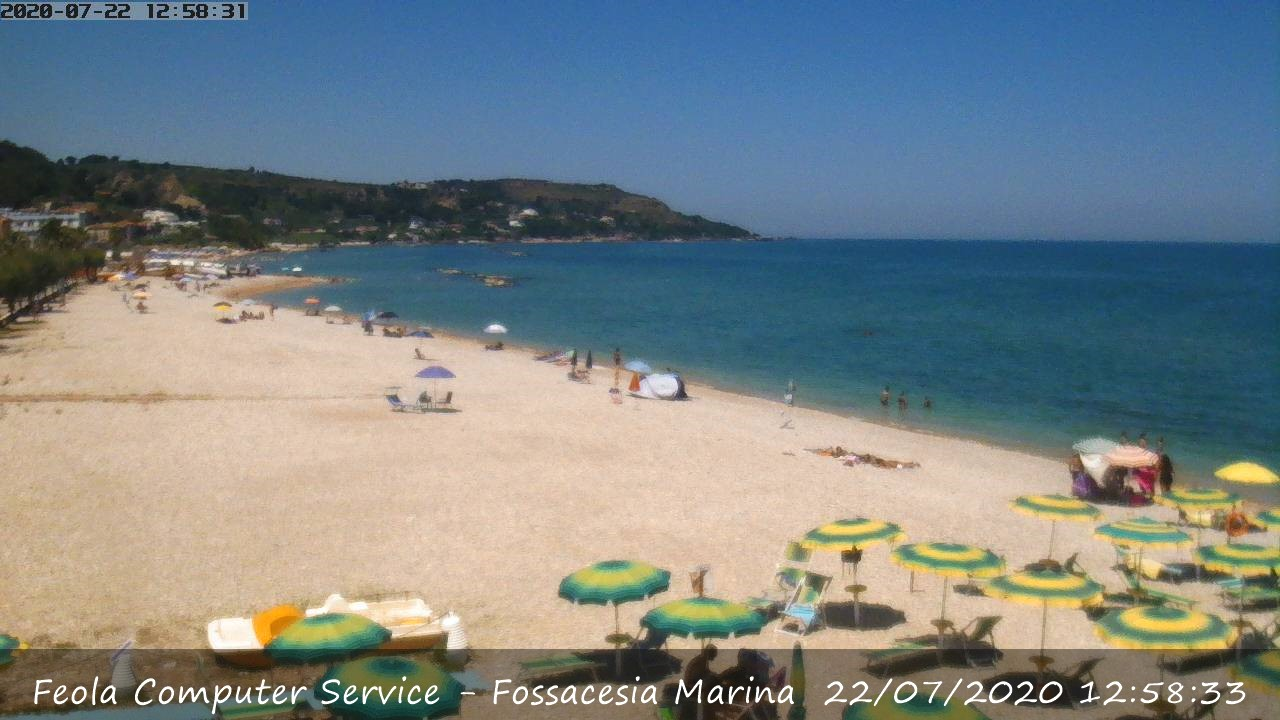Webcam Fossacesia Marina CH